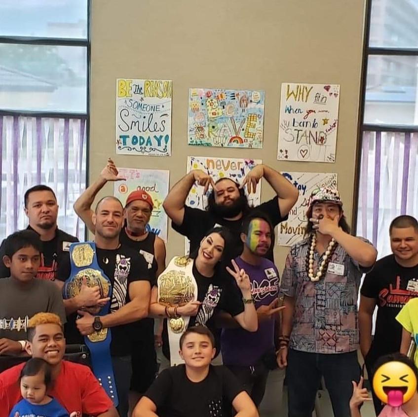 UCE Wrestling At Shriners Hospital