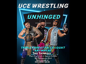 Higgins vs Wilde vs Aleki at UNHINGED