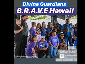 UCE at Divine Guardians & BRAVE Hawaii Rally
