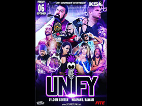 UNIFY September 6th Show & TV Taping