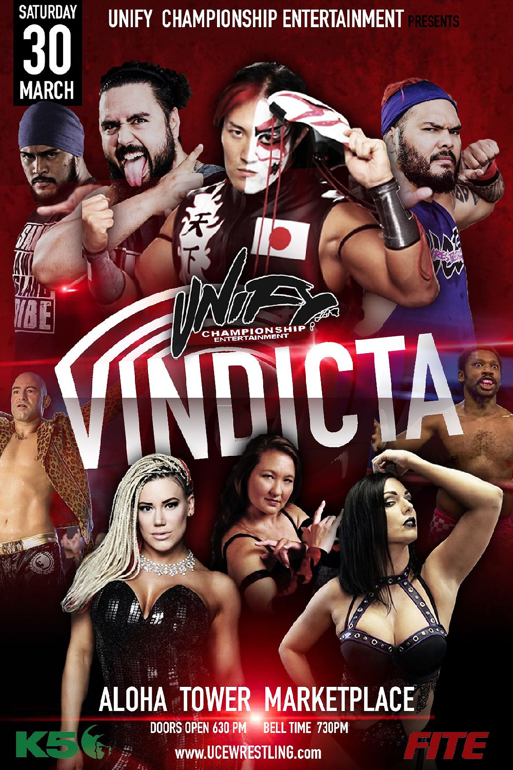 Unify Championship Entertainment Presents Vindicta
