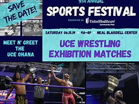UCE Wrestling at Sports Festival on June 15th