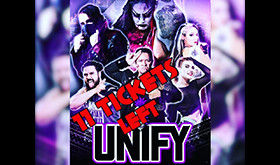 Limited Tickets Left for Unify Feb. 23rd Show