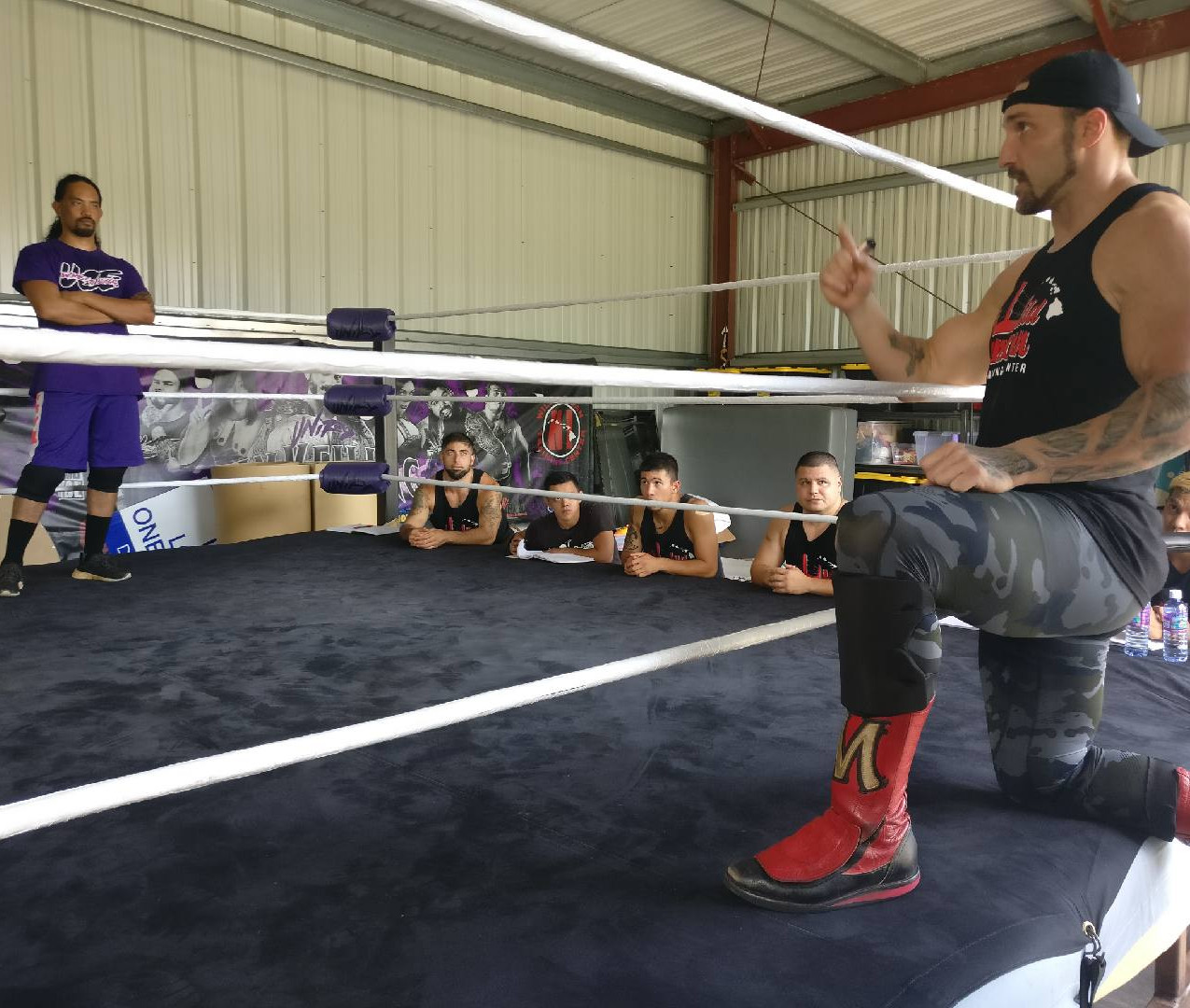 Wrestling Seminar with Chris Masters