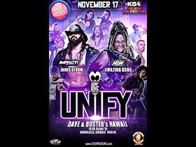 UNIFY November 17th Show & TV Taping