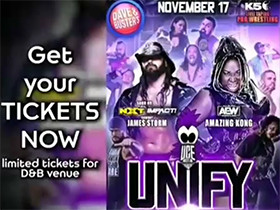 November 17th UNIFY Taping at D&B