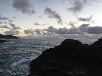Bonnie Maxson in Hawaii