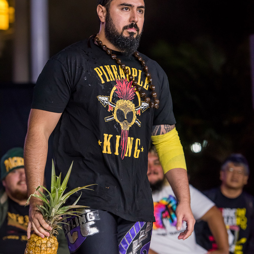 """The Pineapple King"" Aleki"
