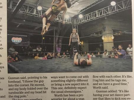 Noa & Kory Featured in Newspaper