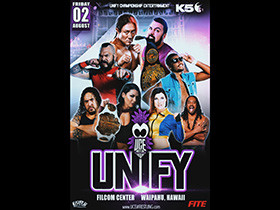 UCE Wrestling Presents UNIFY on August 2nd