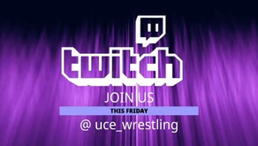 UCE Wrestling & Guests Live on TWITCH TV