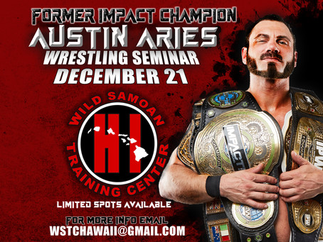 Wrestling Seminar with Austin Aries