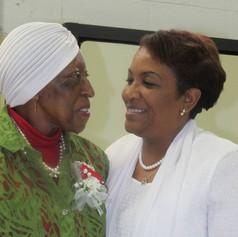 Teresa & Godmother Rogers