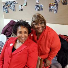 Gail Merrit & Teresa Johnson