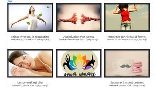 5 ateliers thématiques de sophrologie sont proposées pour la 1ère fois au sein de la structure de Yo