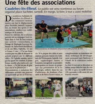Paris-Normandie présente le Cabinet de Sophrologie Second Souffle (installé à  Louviers) lors du for