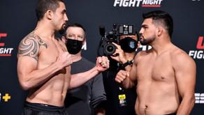 UFC Vegas 24 Whittaker vs. Gastelum: Coby's Full Card