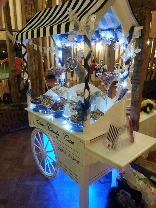 Blue Sweet Cart