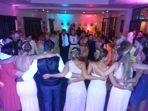 wedding reception last dance