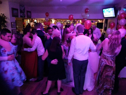 People on dance floor