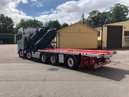 Våran nya Scania med Palfinger 135 Tnm Tec 7