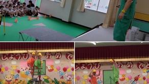 2019年7月11日(木)幼稚園にて(岐阜県可児市)
