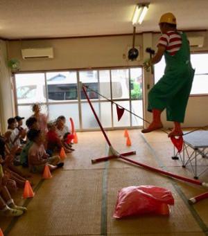 2019年7月28日(日)子供会にて(岐阜県安八郡)