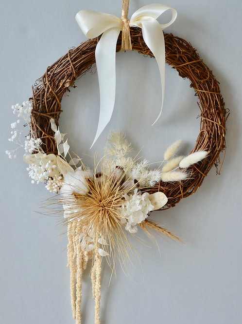 Natural White Wreath