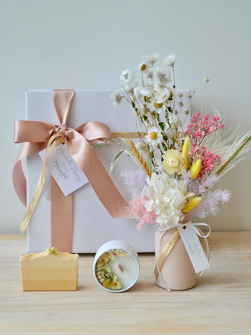Blooms, Soap & Candle Gift Box