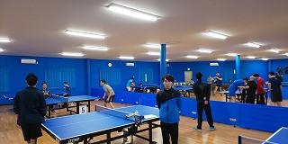 第6回トキワテーブルテニス卓球大会