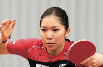 若宮三紗子さんの卓球講習会開催!