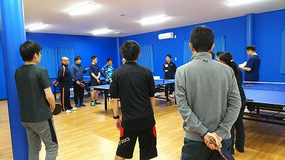 第2回トキワテーブルテニス卓球大会結果