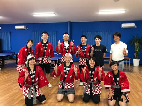 トキワテーブルテニス卓球夏祭り開催!