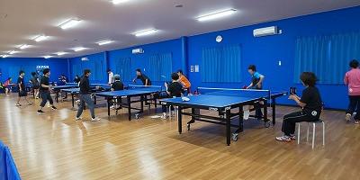 第8回トキワテーブルテニス卓球大会結果!