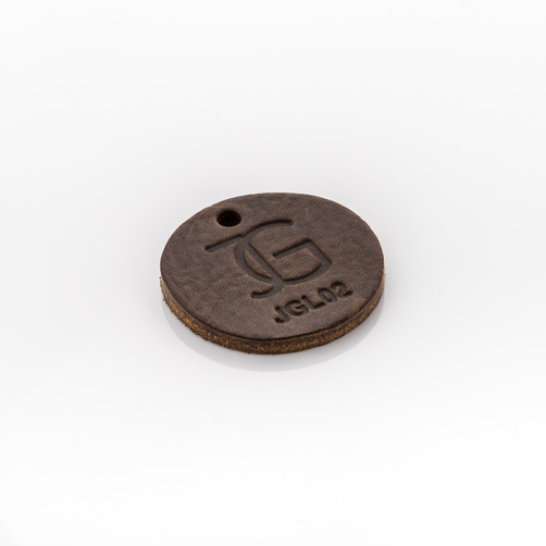 LEATHER: ANTIQUE BROWN - CODE: JGL02