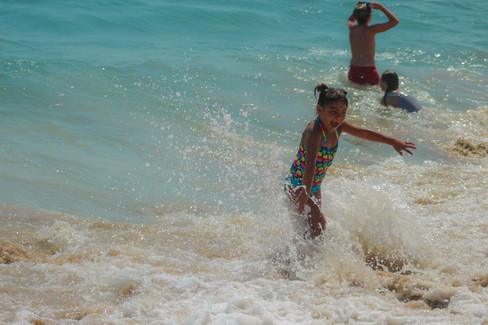 Sea Water Splashes