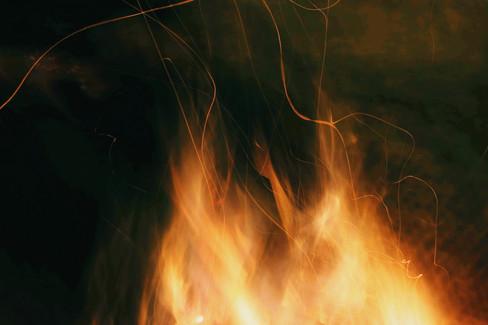 Golden Flames