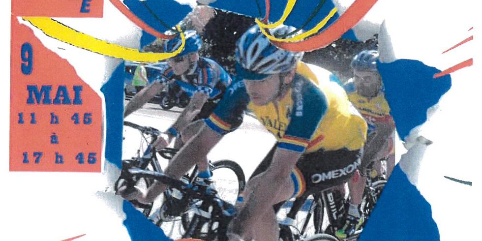 Encadrement course cycliste