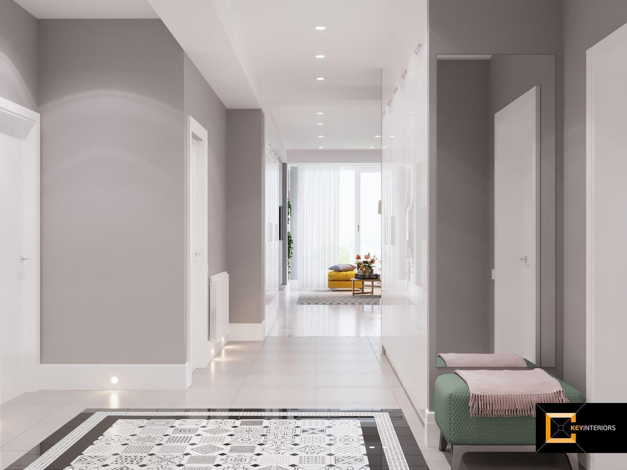 Design interior, open space