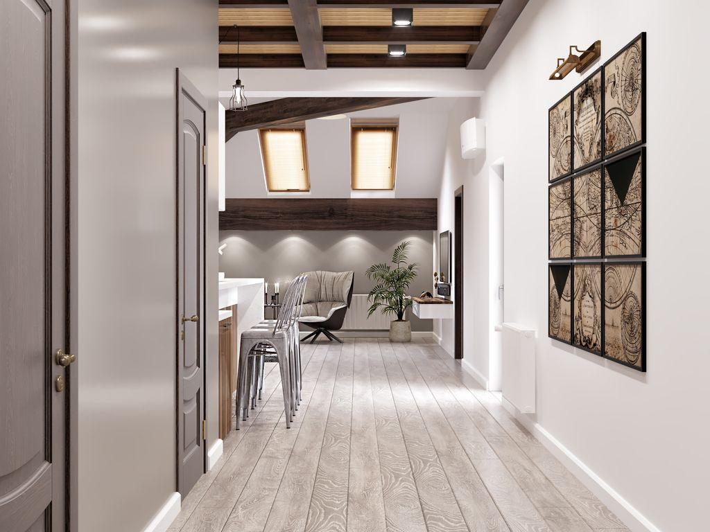Mobolier loft în living