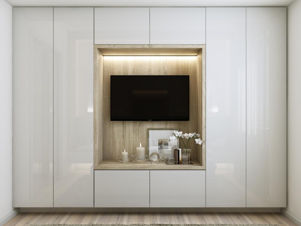 TV incorporat  în mobilier