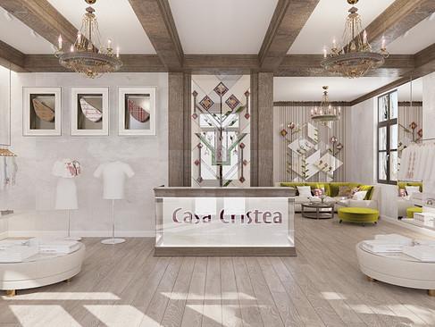 Casa Cristea - Magazin-atelier pentru confectionarea iilor traditionale