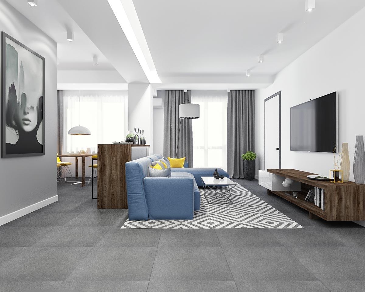 Stil minimalist open space
