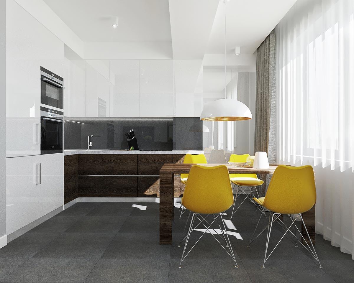 Bucătărie stil minimalist