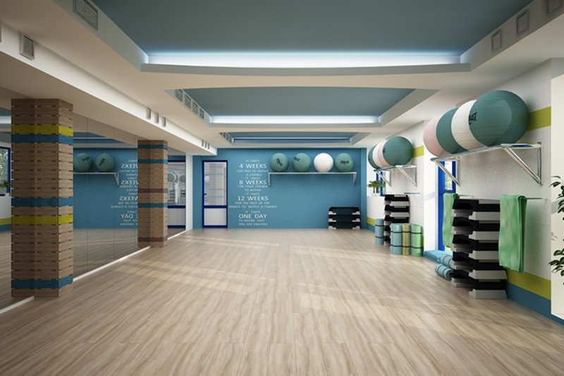 Sala de fitness - Blue