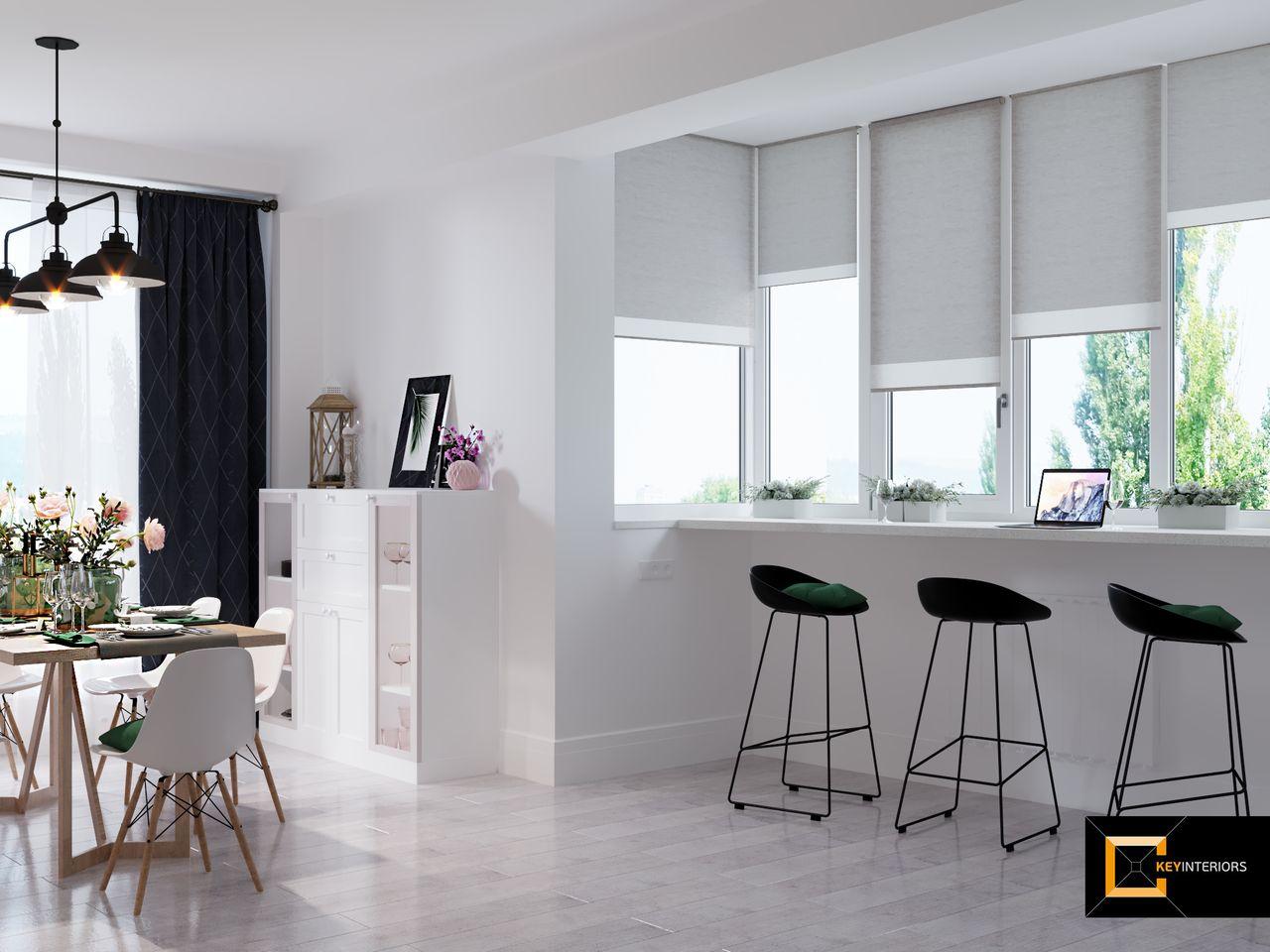 Design interior, scaune bar,