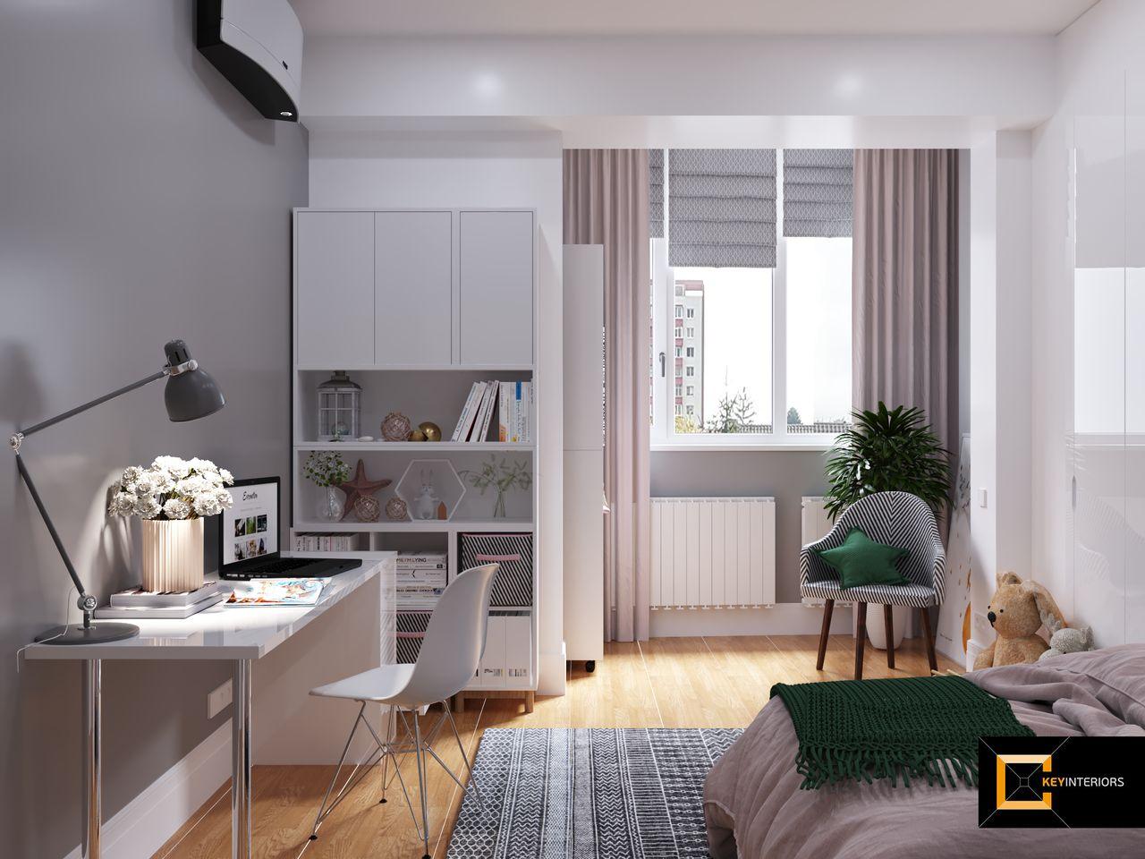 Design interior, camera fetiţa