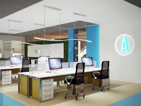 Amdaris - IT office