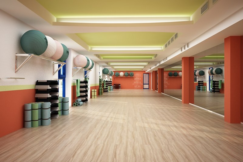 Sala de fitness - Coral