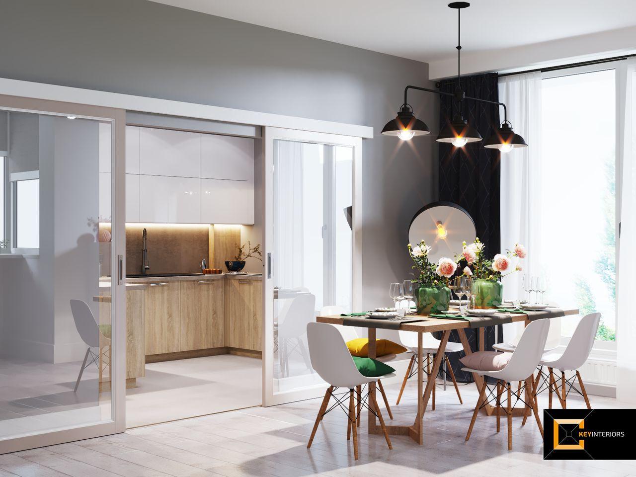 Interior design, uşi culisante